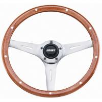 "Street Performance / Tuner Steering Wheels - Grant Collector's Edition Steering Wheels - Grant Steering Wheels - Grant Collector's Edition Steering Wheel - 14"" - Walnut"