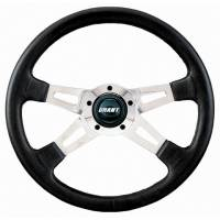 "Street Performance / Tuner Steering Wheels - Grant Collector's Edition Steering Wheels - Grant Steering Wheels - Grant Collector's Edition Steering Wheel - 14 3/4"" - Black"