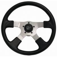 """Street Performance / Tuner Steering Wheels - Grant GT Steering Wheels - Grant Steering Wheels - Grant GT Rally Steering Wheel - 14"""" - Black"""