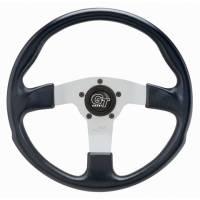"""Street Performance / Tuner Steering Wheels - Grant GT Steering Wheels - Grant Steering Wheels - Grant GT Rally Steering Wheel - 13"""" - Black / White"""