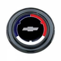 Street Performance / Tuner Steering Wheels - Grant Installation Kits and Accessories - Grant Steering Wheels - Grant Cheverolet Red / White / Blue Horn Button