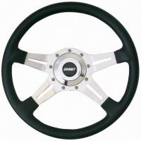 "Street Performance / Tuner Steering Wheels - Grant Le Mans Steering Wheels - Grant Steering Wheels - Grant Le Mans Steering Wheel - 14"" - Black"