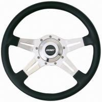 """Street Performance / Tuner Steering Wheels - Grant Le Mans Steering Wheels - Grant Steering Wheels - Grant Le Mans Steering Wheel - 14"""" - Black"""
