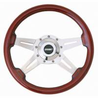 "Street Performance / Tuner Steering Wheels - Grant Le Mans Steering Wheels - Grant Steering Wheels - Grant Le Mans Steering Wheel - 14"" - Mahogany"