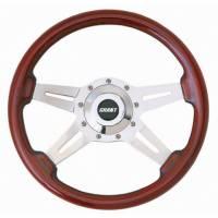 """Street Performance / Tuner Steering Wheels - Grant Le Mans Steering Wheels - Grant Steering Wheels - Grant Le Mans Steering Wheel - 14"""" - Mahogany"""