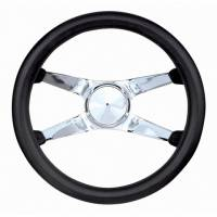 "Street Performance / Tuner Steering Wheels - Grant Racer X Steering Wheels - Grant Steering Wheels - Grant Classic Racer X Steering Wheel - 12 1/2"" - Black"