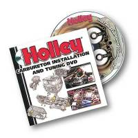 Books, Video & Software - How to Videos - Holley Performance Products - Holley Carburetor Installation & Tuning DVD Video