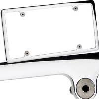 Street & Truck Accessories - License Plate Frames - Billet Specialties - Billet Specialties License Plate Frame - Polished