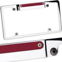 Body & Exterior - Billet Specialties - Billet Specialties Lighted License Frame w/ 3rd Brake Light