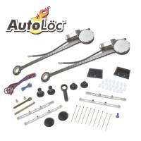 Power Window Kits and Components - Power Window Kits - AutoLoc - AutoLoc Deluxe 2 Door Power Window Kit