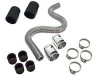 Cooling & Heating - Spectre Performance - Spectre Magna-Kool Stainless Steel Radiator Hose Kit - Includes 36 in. Hose/Two 1.75 in. Rubber Sleeves/4 Reducer Inserts/4 Hose Clamps/2 Chrome Covers