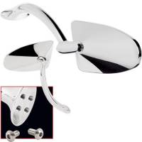 Body & Exterior - Billet Specialties - Billet Specialties Oblique Profile Side View Mirrors - (Set of 2)
