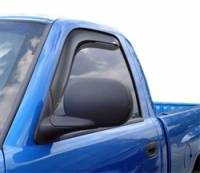 Dodge Ram 1500 Exterior Components - Dodge Ram 1500 Side Window Visors - Auto Ventshade - Auto Ventshade Ventvisor In-Channel Deflector - 2 Piece - Smoke