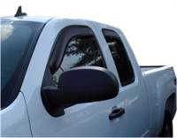 Chevrolet 2500/3500 Exterior Components - Chevrolet 2500/3500 Deflectors and Visors - Auto Ventshade - Auto Ventshade Ventvisor In-Channel Deflector - 4 Piece - Smoke