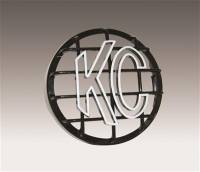 Lights & Lighting - Auxiliary Light Covers - KC HiLiTES - KC HiLiTES Stone Guard - Black