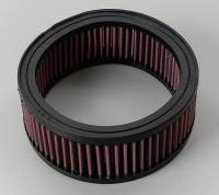 "Universal Round Air Filters - 6"" Round Air Filters - K&N Filters - K&N Performance Air Filter - 6-3/8"" x 2-1/2"" - Universal"