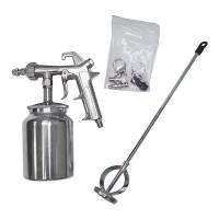 "LizardSkin - LizardSk"" Super Pro Spray Gun Kit"