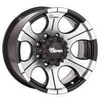Wheels - Street / Strip - Dick Cepek Black DC-2 Wheels - Dick Cepek - Dick Cepek DC-2 Wheel - Size: 16 x 8