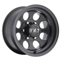 Mickey Thompson Wheels - Mickey Thompson Classic III Black Wheels - Mickey Thompson - Mickey Thompson 15x10 Classic III Wheel 5x4.5 Bolt Circle 3-5/8BS Black
