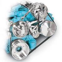 Drive Kits - Serpentine Belt Drive Kits - March Performance - March Performance Pontiac V8 Serpentine Conv Kit