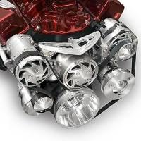 V-Belt Drive Kits - Chrysler V-Belt Pully Systems - March Performance - March Performance Track Pulley Set Chryslr 383/440/426