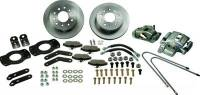 Brake System - SSBC Performance Brakes - SSBC Chevy Rear Disc Brake Conversion Kit 62-67 Nova/67 Camaro