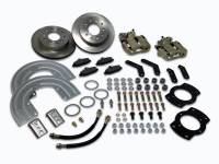 Brake System - SSBC Performance Brakes - SSB Chevy Disc Brake Conversion Kit - Aluminum Calipers