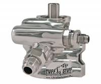 Saginaw Power Steering Pumps - Saginaw GM Type 2 Power Steering Pumps - Tuff Stuff Performance - Tuff Stuff Type 2 Power Steering Pump Polished Aluminum