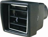 """Ducts and Accessories - Heating and Cooling Louvers - Vintage Air - Vintage Air Under Dash Louver for 2-1/2"""" Hose"""