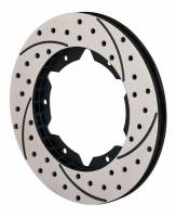 "Wilwood Rotors - Wilwood SRP Drilled Performance Rotors - Wilwood Engineering - Wilwood SRP Drilled Performance Rotor - LH - 10.75"" Diameter - .810"" Width - 6 x 6.25"" Bolt Circle"