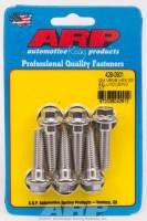 Bellhousing Parts & Accessories - Bellhousing Bolt Kits - ARP - ARP Stainless Steel Bellhousing Bolt Kit - 6 Point GM V6/V8