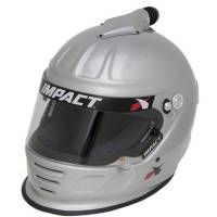 Helmets - Snell SA2015 Rated Forced Air Helmets - Impact - Impact Air Draft Top Air Helmet - Medium - Silver
