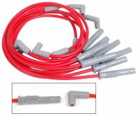 Ford F-250 / F-350 Ignitions and Electrical - Ford F-250 / F-350 Spark Plug Wires - MSD - MSD Super Conductor 8.5mm Spark Plug Wire Set - Red