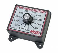 Ignition Systems and Components - Ignition RPM Module Selectors - MSD - MSD Selector Switch - 6000-8200 RPM