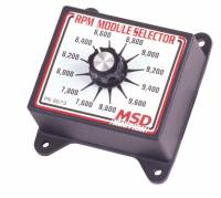 Ignition Systems and Components - Ignition RPM Module Selectors - MSD - MSD Selector Switch - 7600-9800 RPM