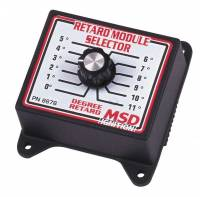 Ignition Systems - Ignition Timing Module Selectors - MSD - MSD Timing Retard Module Selector Switch - 0-11 Degrees