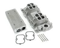 Intake Manifolds - SB Chevy - Weiand Intake Manifolds - SBC - Weiand - Weiand Stealth Ram Intake Manifold - 2500-6500 RPM Range