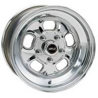 "Weld Wheels - Weld Racing Rodlite Polished Wheels - Weld Racing - Weld Rodlite Polished Wheel - 15"" x 7"" - 5 x 4.5""/4.75"" Bolt Circle 3.5"" Back Spacing"