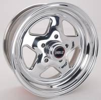 "Wheels - Street / Strip - Weld Racing Prostar Wheels - Weld Racing - Weld Pro Star Polished Wheel - 14 X 6"" - 5 x 4.5"" Bolt Circle - 3.5"" Back Spacing"