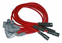 Chevrolet 2500/3500 Ignitions and Electrical - Chevrolet 2500/3500 Ignition Components - MSD - MSD Super Conductor 8.5mm Spark Plug Wire Set - Red
