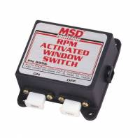 Nitrous Oxide System Components - Nitrous Oxide Activation Switches - MSD - MSD RPM Activated Switch - Window