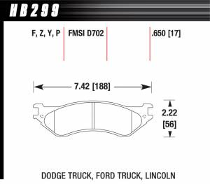 Dodge Ram 2500HD/3500 - Dodge Ram 2500HD/3500 Brakes - Dodge Ram 2500HD/3500 Disc Brake Pads