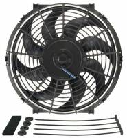 "Cooling & Heating - Derale Performance - Derale 12"" Tornado Electric Fan - 880 CFM, 2100 RPM, 8.8 Amp Draw"