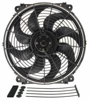 "Cooling & Heating - Derale Performance - Derale 14"" Tornado Electric Fan - 1350 CFM, 1750 RPM, 10.5 Amp Draw"