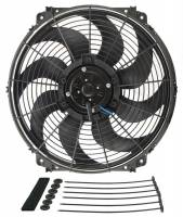 "Electric Fans - Derale Electric Fans - Derale Performance - Derale 16"" Tornado Electric Fan - 2175 CFM, 1680 RPM, 18.4 Amp Draw"