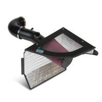 Street Performance USA - Cold Air Inductions - Cold Air Inductions Chevrolet Camaro Cold Air Intake System - Textured-Black