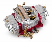 Carburetors - Street Performance - Holley Double Pumper Model 4150 Carburetors - Holley Performance Products - Holley 850 CFM Ultra Double Pumper Carburetor - Silver/Red