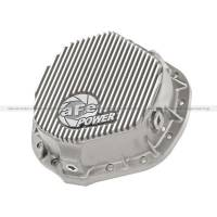 Differentials and Components - Differential Covers - aFe Power - aFe Power Rear Differential Cover (Raw - Street Series)