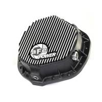Rear End Parts & Accessories - Rear End Covers - aFe Power - aFe Power Rear Differential Cover (Machined - Pro Series)