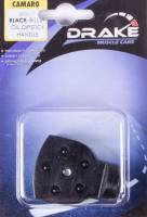 Oil Pan Parts & Accessories - Oil Dipsticks - Drake Automotive Group - Drake Automotive Group Oil Dipstick Handle Cover Black 10-14 Camaro